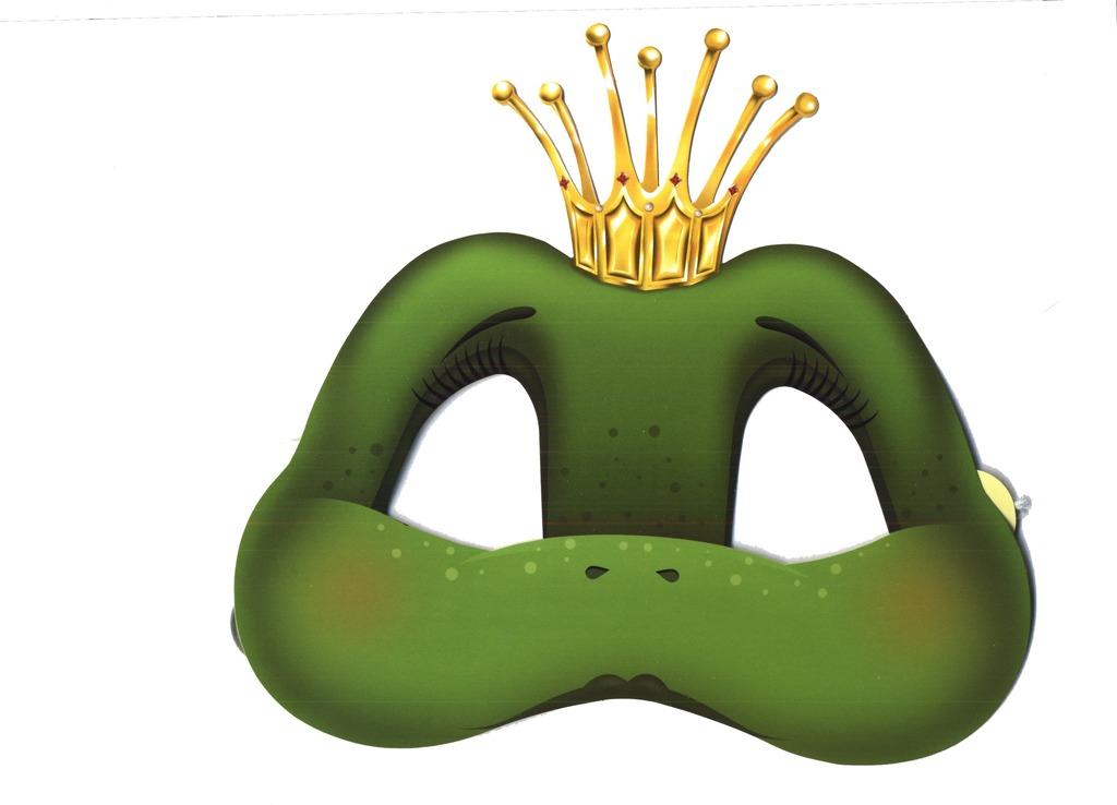 Лягушка маска своими руками