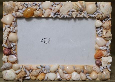 Поделка рамок из ракушек 207