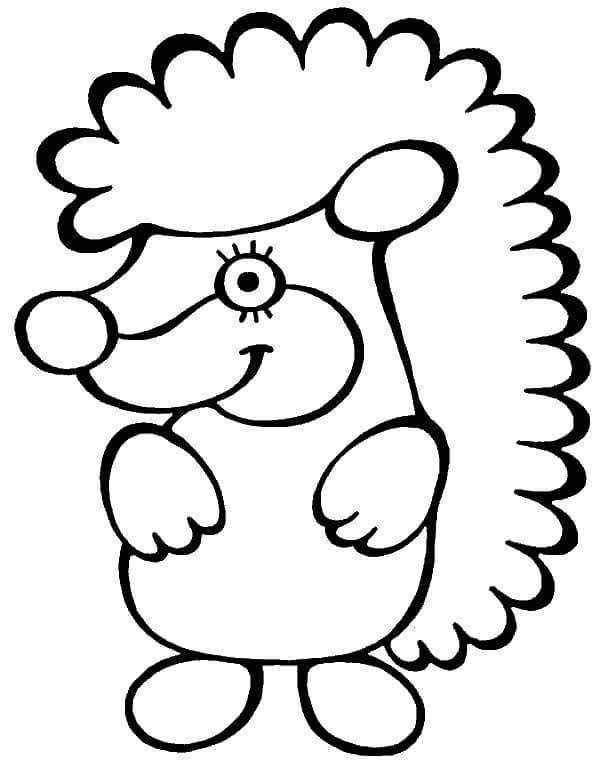Раскраски животные для маленьких детей